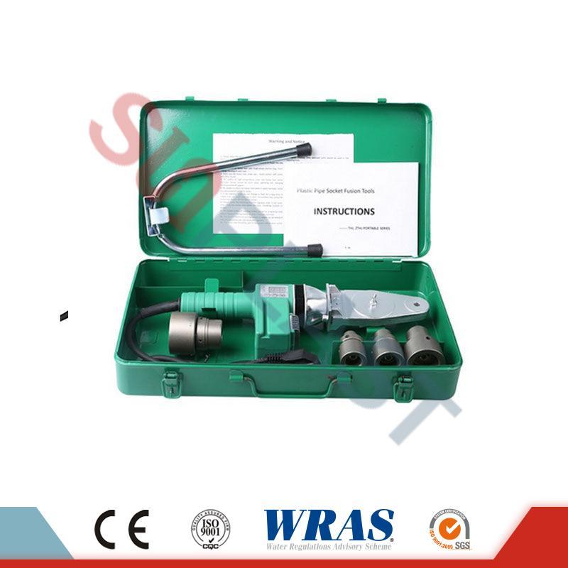 PPR குழாய் ஐந்து 20-32mm சாக்கெட் ஃப்யூஷன் வெல்டிங் மெஷின் & amp; HDPE குழாய்